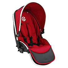 Buy Oyster Max Tandem Seat, Tomato Online at johnlewis.com