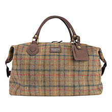 Buy Barbour Tweed Explorer Bag, Olive Online at johnlewis.com