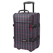 Buy Eastpak Tranverz 49cm 2-Wheel Cabin Suitcase, Black/Multi Online at johnlewis.com