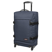 Buy Eastpak Transmitter 4-Wheel Medium Holdall, Navy Online at johnlewis.com