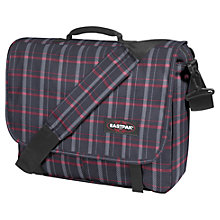 Buy Eastpak Senior Messenger Bag, Re-Check Black Online at johnlewis.com