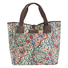 Buy Barbour Morris Floral Print Shopper, Golden Lily Online at johnlewis.com