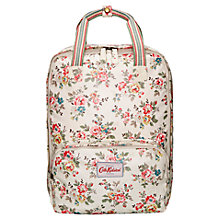 Buy Cath Kidston Kingswood Rose Backpack, Ivory Online at johnlewis.com