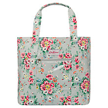 Buy Cath Kidston Folk Flowers Open Carry-All Bag, Grey Online at johnlewis.com