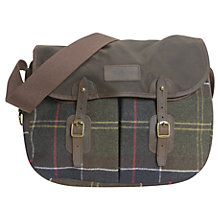 Buy Barbour Morar Tartan Wool Bag, Tarras Online at johnlewis.com