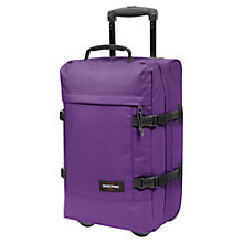 Buy Eastpak Tranverz Small 2-Wheel Holdall Online at johnlewis.com