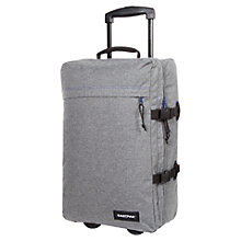 Buy Eastpak Wow 2-Wheel Cabin Suitcase, Melout Grey Online at johnlewis.com