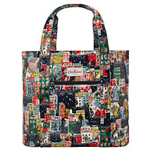 Buy Cath Kidson Townhouses Open Carry-All Bag, Midnight Online at johnlewis.com