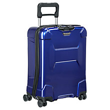 Buy Briggs & Riley Torq 4-Wheel 54.5cm International Cabin Suitcase, Cobalt Online at johnlewis.com