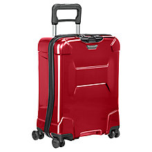 Buy Briggs & Riley Torq 4-Wheel 54.5cm International Cabin Suitcase, Ruby Online at johnlewis.com