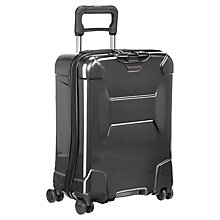 Buy Briggs & Riley Torq 4-Wheel 54.5cm International Cabin Suitcase, Graphite Online at johnlewis.com