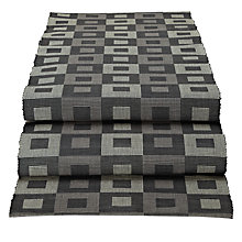 Buy John Lewis Multi Check Runner, Grey Online at johnlewis.com