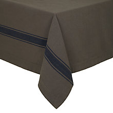 Buy Lexington Striped Tablecloth, Grey/Navy Online at johnlewis.com