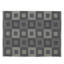 Buy John Lewis Multi Check Placemats, Set of 2, Grey Online at johnlewis.com