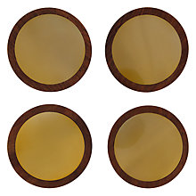 Buy John Lewis Havana Coasters, Set of 4, Gold Online at johnlewis.com