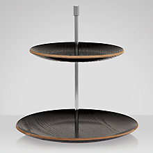Buy John Lewis Coffee Double Tier Cakestand Online at johnlewis.com