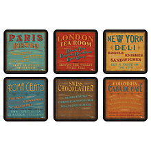 Buy Pimpernel Lunchtime Coasters, Set of 6 Online at johnlewis.com