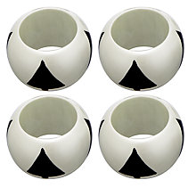 Buy John Lewis Copenhagen Napkin Rings, Set of 4 Online at johnlewis.com