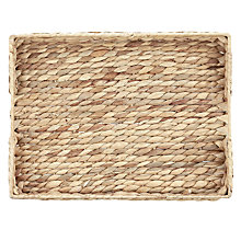 Buy John Lewis Water Hyacinth Tray Online at johnlewis.com