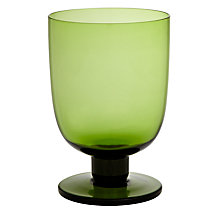 Buy John Lewis Scandi Goblet, Citrine Online at johnlewis.com