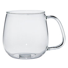 Buy KINTO Glass Mug, Medium Online at johnlewis.com