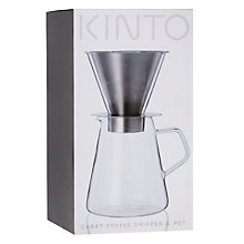 Buy KINTO Coffee Dripper and Pot Online at johnlewis.com