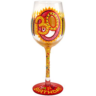 Lolita 30th Birthday Wine Glass