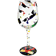 Buy Lolita Graduation Wine Glass Online at johnlewis.com