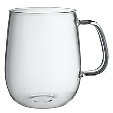 Buy KINTO Large Glass Mug Online at johnlewis.com