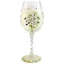 Buy Lolita Wedding Bouquet Wine Glass Online at johnlewis.com