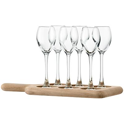 LSA International Paddle Liqueur Glass, Clear