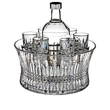 Buy Waterford Lismore Diamond Vodka Bottle and Glasses, Set of 6 Online at johnlewis.com