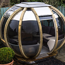 Buy Farmer's Cottage Round PavilionSummer House Sphere, 3 x 3m Online at johnlewis.com