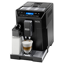 Buy De'Longhi ECAM44.660.B Eletta Cappuccino Bean to Cup Coffee Machine, Black Online at johnlewis.com