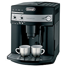 Buy De'Longhi ESAM3000.B Magnifica Bean-to-Cup Coffee Machine, Black Online at johnlewis.com