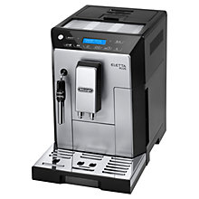 Buy De'Longhi ECAM44.620 Eletta Plus Bean-to-Cup Coffee Machine, Silver/Black Online at johnlewis.com