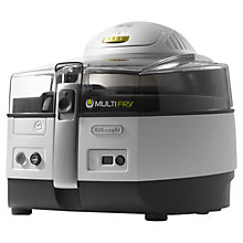 Buy De'Longhi FH1363 Extra Multifry Fryer Online at johnlewis.com