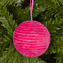 Buy House by John Lewis Chenille Bauble, Pink Online at johnlewis.com