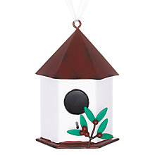 Buy John Lewis Metal Bird House Decoration Online at johnlewis.com