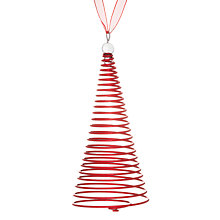 Buy House by John Lewis Wire Spring Tree, Red Online at johnlewis.com