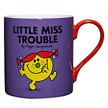 Buy Wild & Wolf Little Miss Trouble Mug, 0.35L Online at johnlewis.com