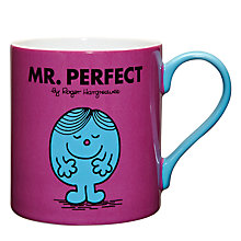 Buy Wild & Wolf Mr Perfect Mug, 0.35L Online at johnlewis.com