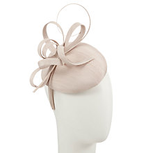 Buy John Lewis Kiki Shan Pillbox Occasion Hat, Champagne Online at johnlewis.com