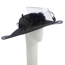 Buy John Lewis Orla Disc Occasion Hat, Black Online at johnlewis.com