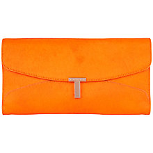 Buy Ted Baker Jamun Maxi Leather Clutch Bag Online at johnlewis.com