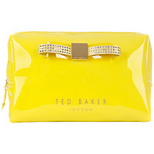 Buy Ted Baker Joulour Large Bow Wash Bag Online at johnlewis.com