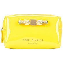 Buy Ted Baker Gemlor Small Jewel Bow Wash Bag Online at johnlewis.com