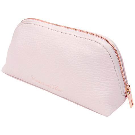Buy Ted Baker Nattle Glazed Leather Wash Bag Online at johnlewis.com