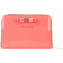 Buy Ted Baker Gemicon Bow iPad Mini Case, Pink Online at johnlewis.com