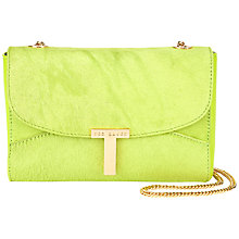 Buy Ted Baker Tickens T Clasp Across Body Bag Online at johnlewis.com